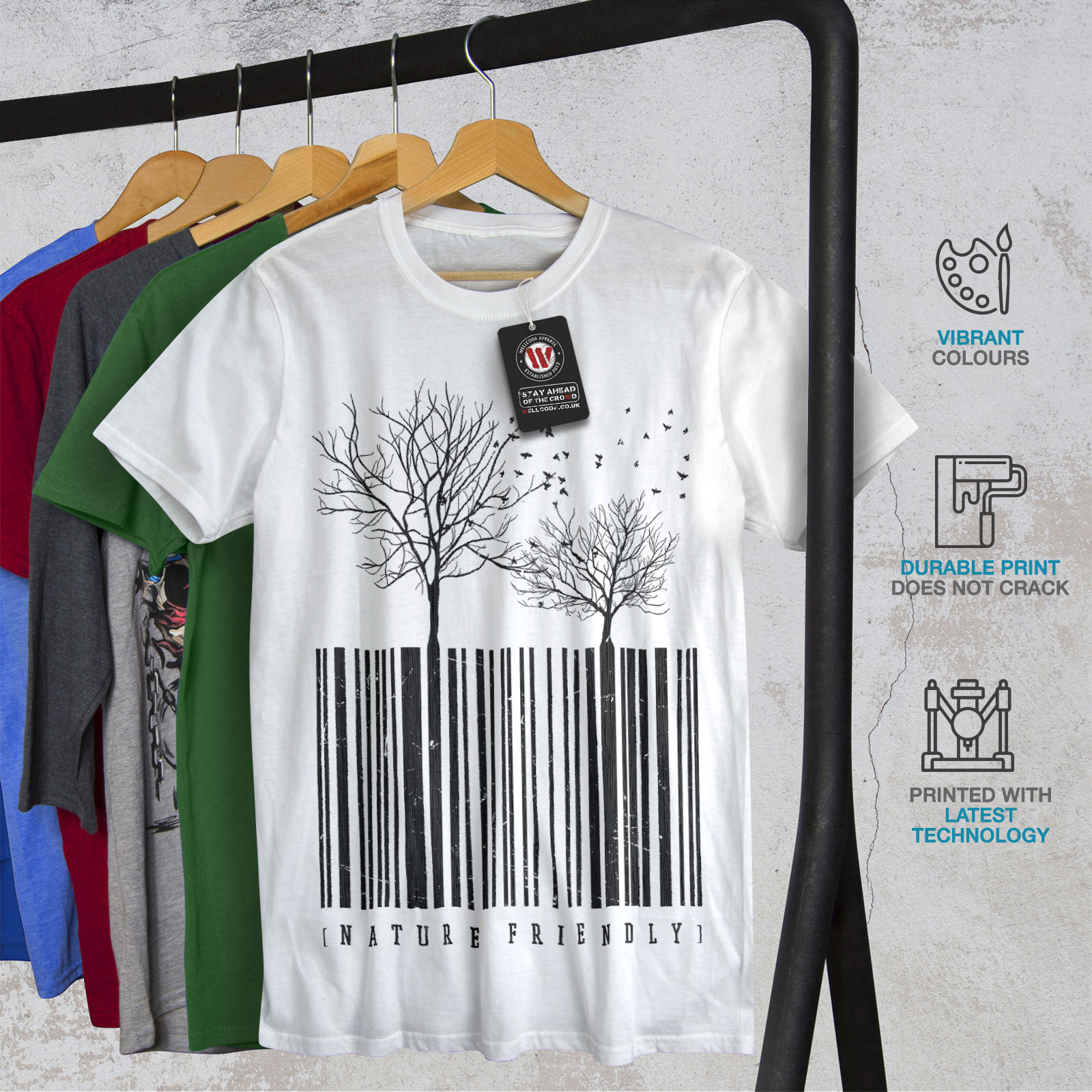 Know Your Roots Mens T-Shirt tree earth nature