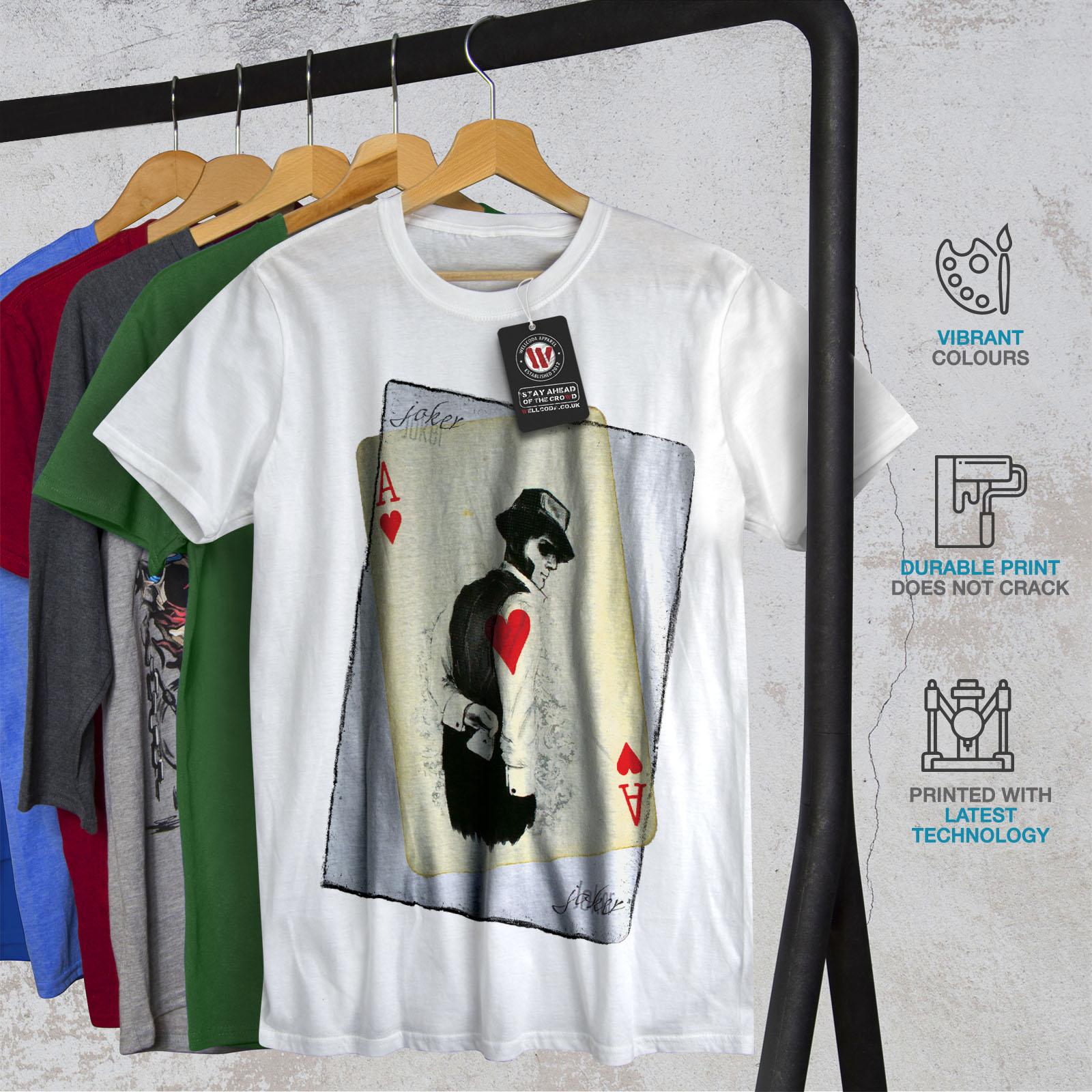 Wellcoda-POKER-misterioso-Da-Uomo-T-shirt-Gamble-design-grafico-stampato-T-shirt miniatura 12