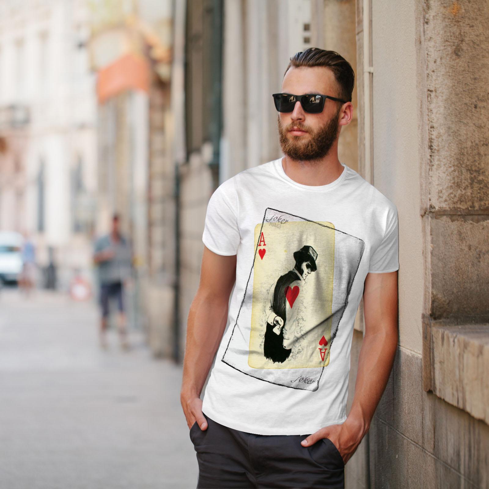 Wellcoda-POKER-misterioso-Da-Uomo-T-shirt-Gamble-design-grafico-stampato-T-shirt miniatura 11