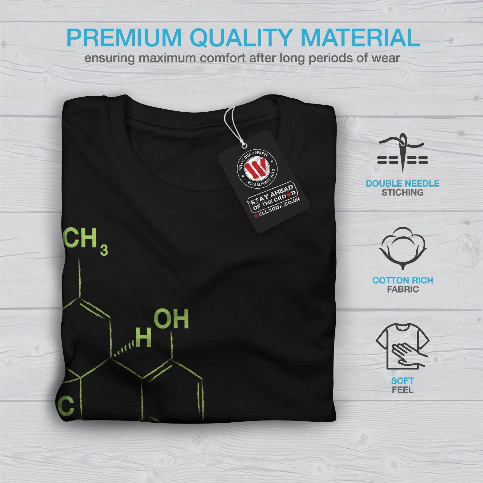 Fitnessmode Herrenmode Wellcoda Funny Chemistry Nerd Geek Men Contrast Hoodie New