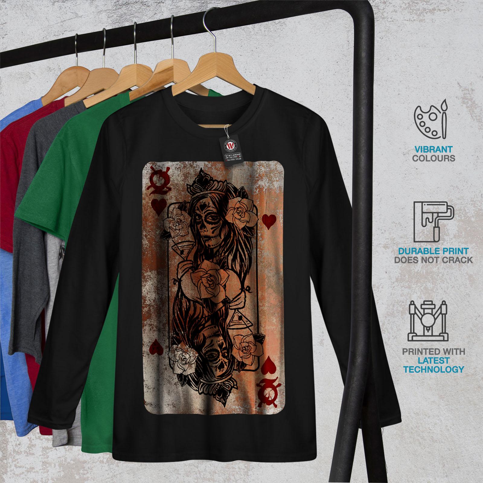 Gothic Heart Queen Men Sweatshirt NEWWellcoda