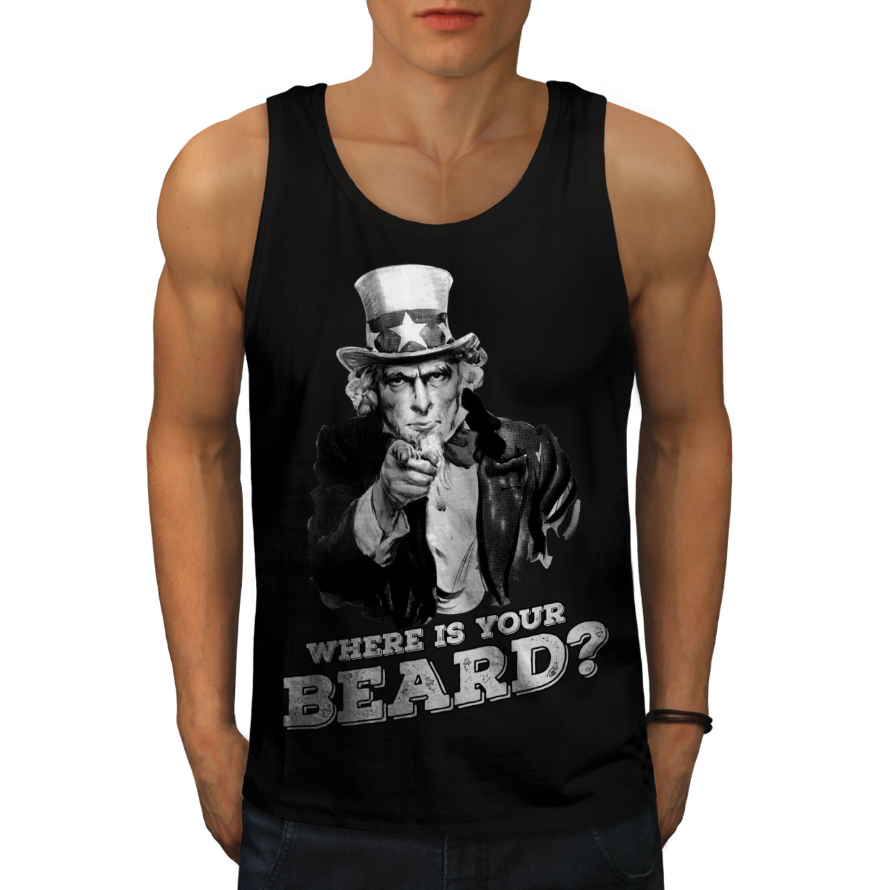 Funny Casual Jumper Wellcoda Long Live Beard Mens Contrast Hoodie