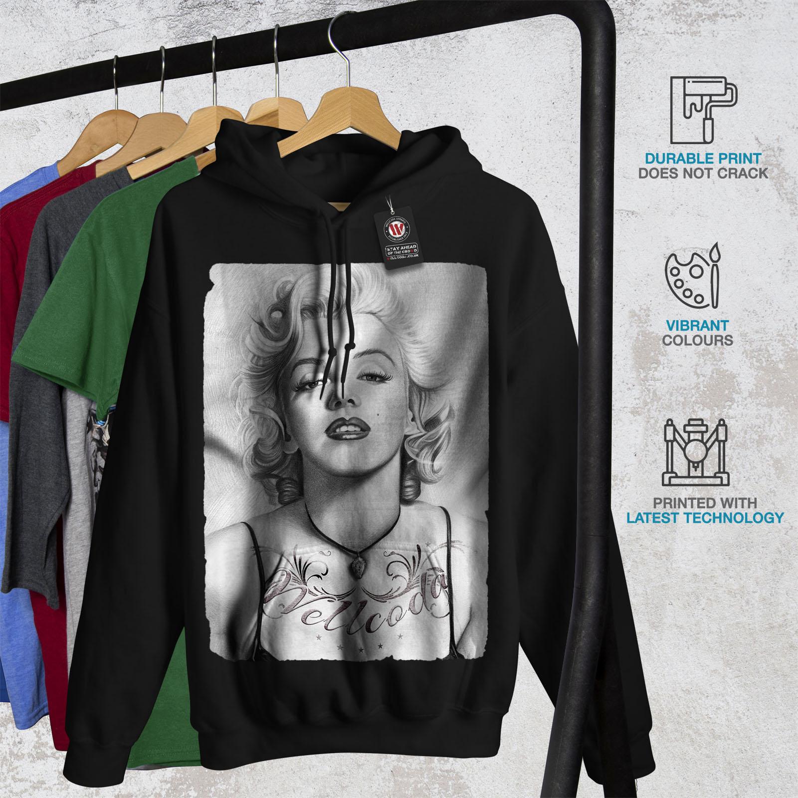 Marilyn Monroe Chick Women Hoodie NEWWellcoda