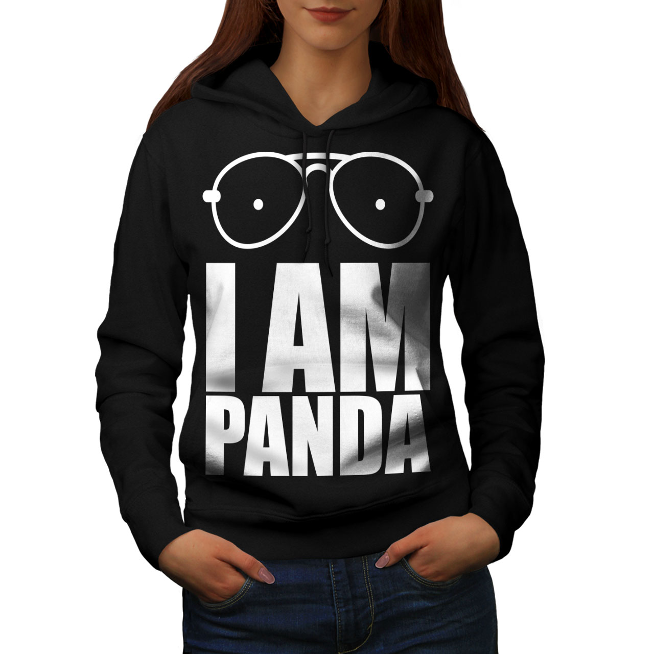 Wild Casual Pullover Jumper Wellcoda Panda Saying Funny Womens Sweatshirt