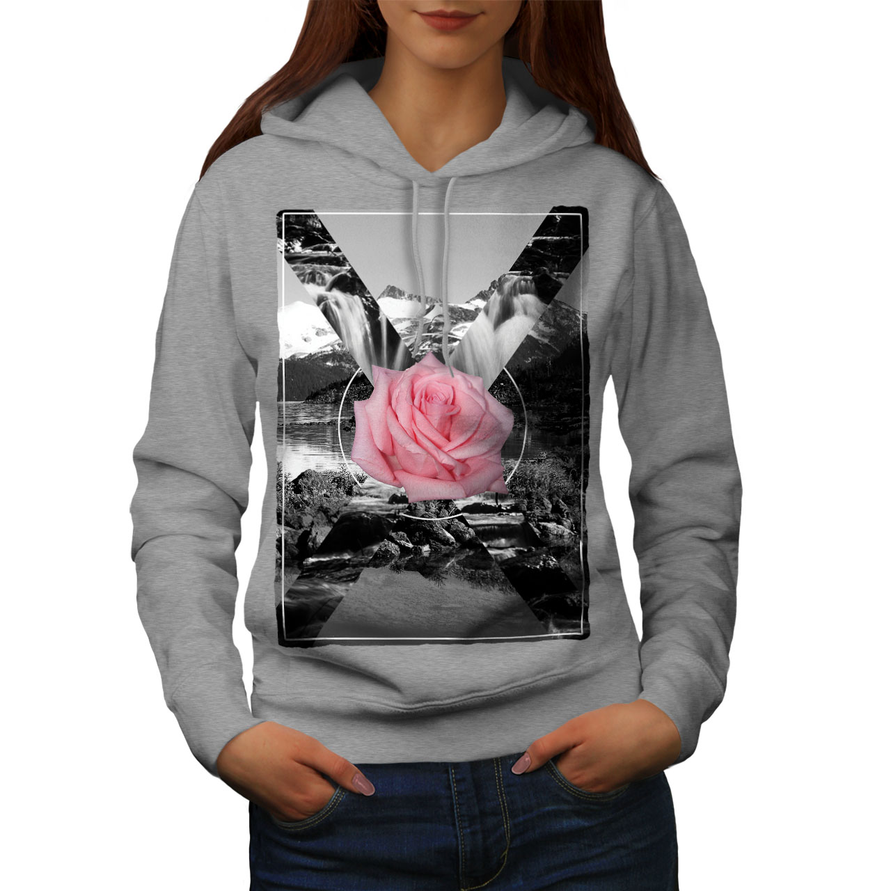 Felpa da donna Skull & Roses