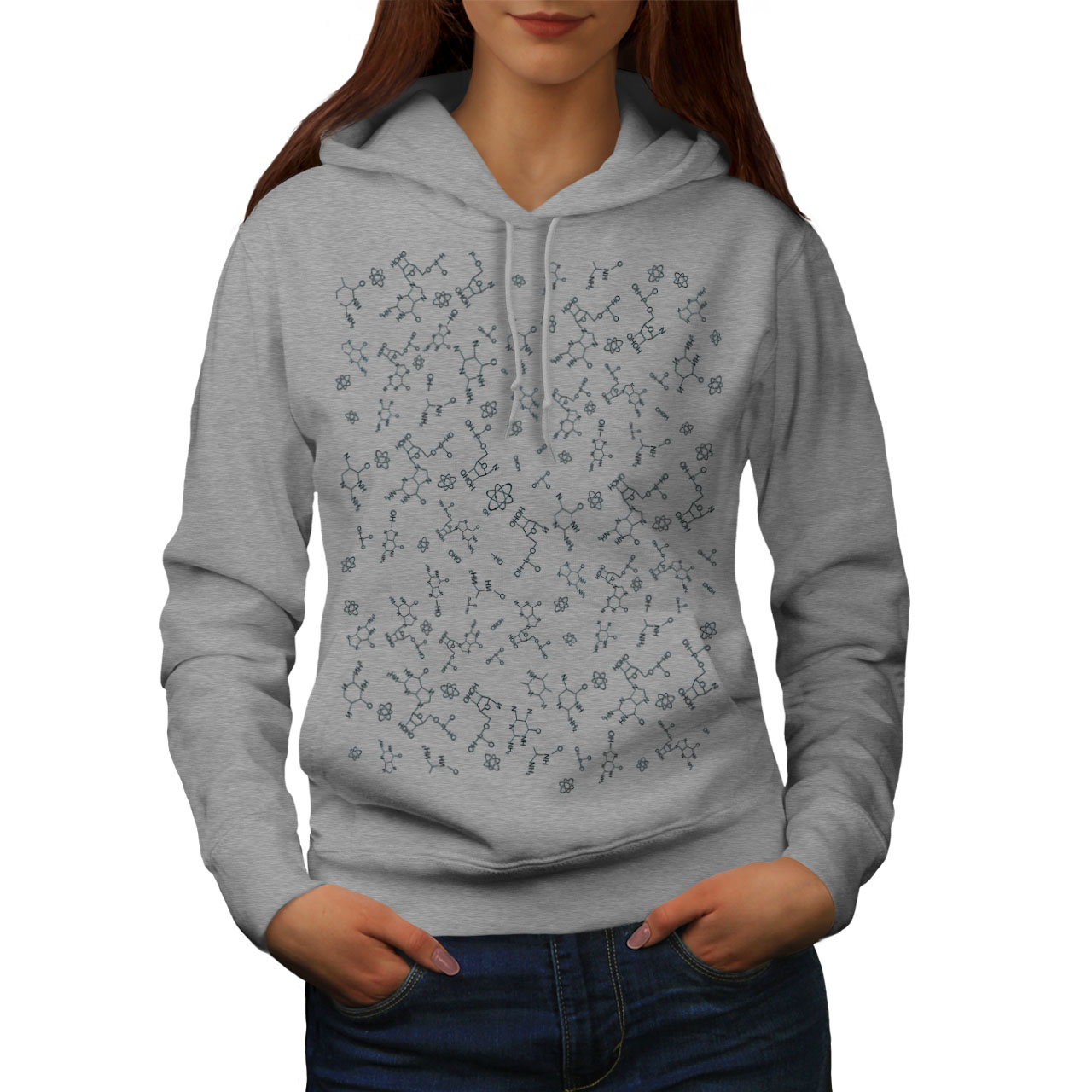 Wellcoda-Chemistry-Science-Geek-Womens-Hoodie-Geek-Casual-Hooded-Sweatshirt thumbnail 7