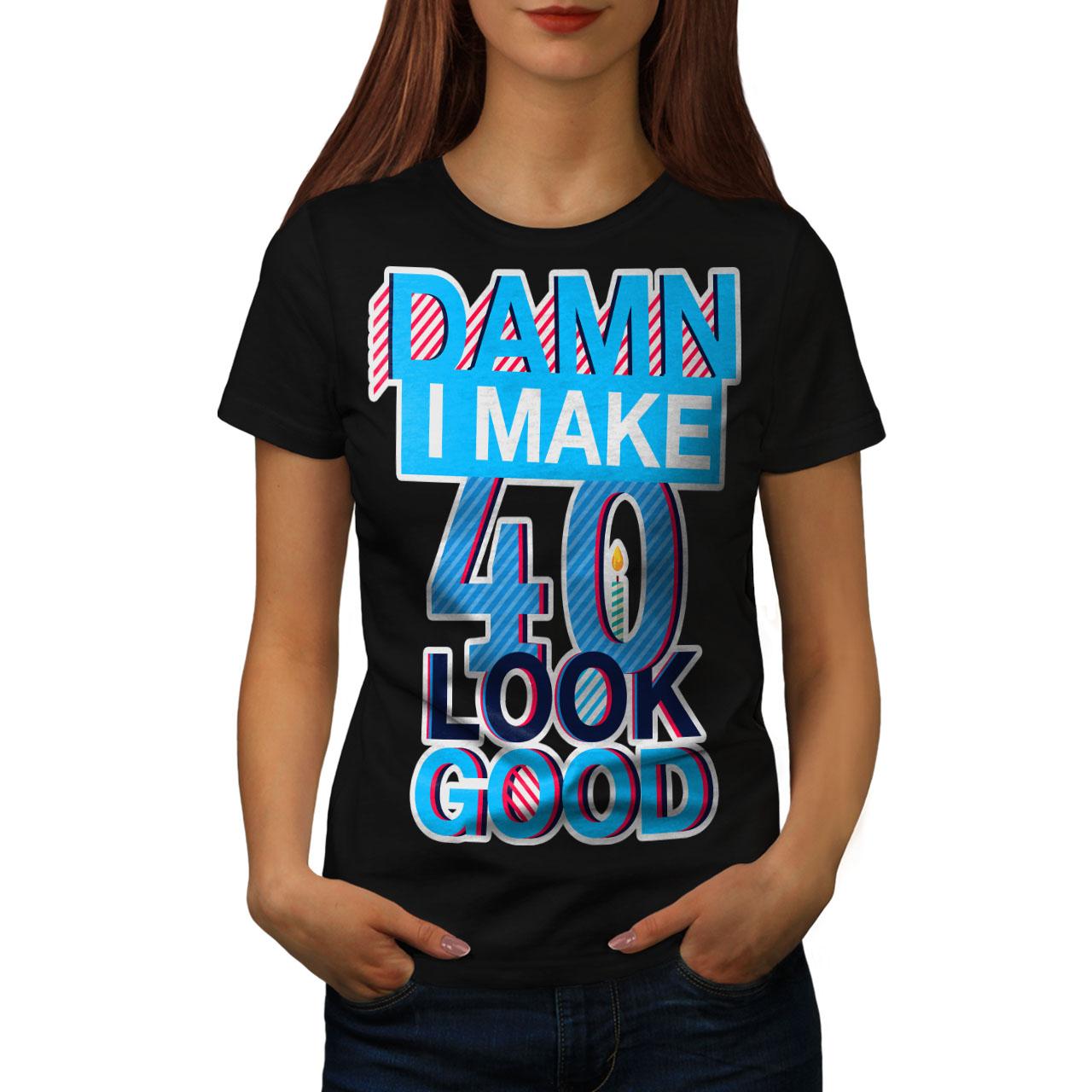 40 Years Old Birthday Women S 2XL T Shirt