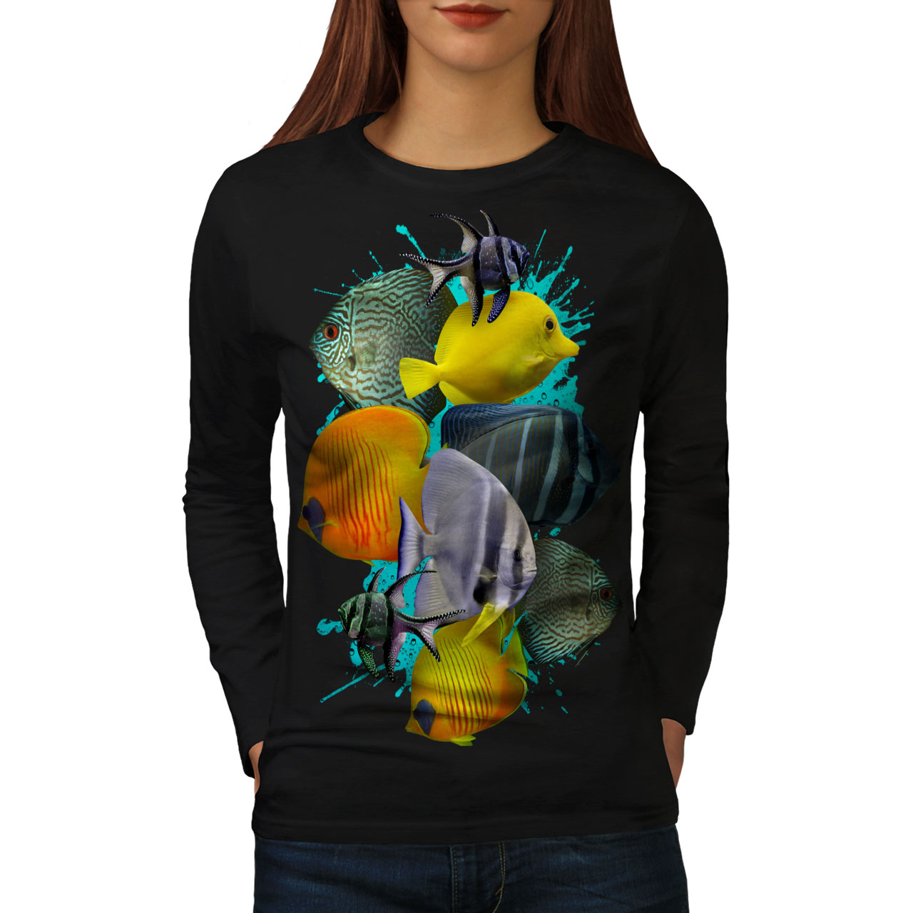 Water Casual Pullover Jumper Wellcoda Orca Bottle Nature Mens Sweatshirt