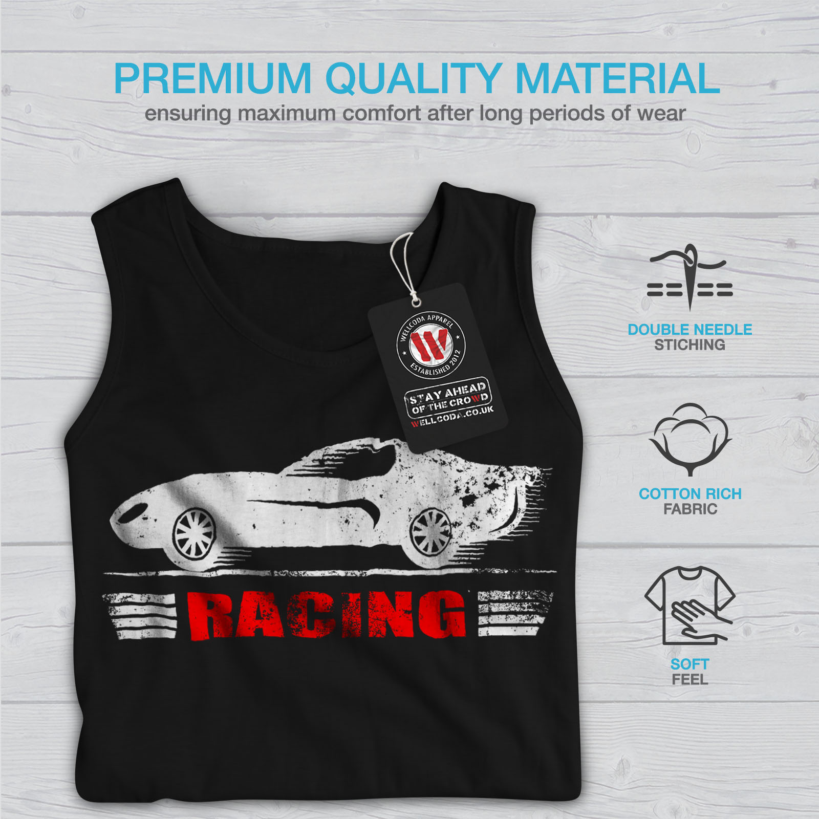 Speed Racing Femmes Tank Top Newwellcoda