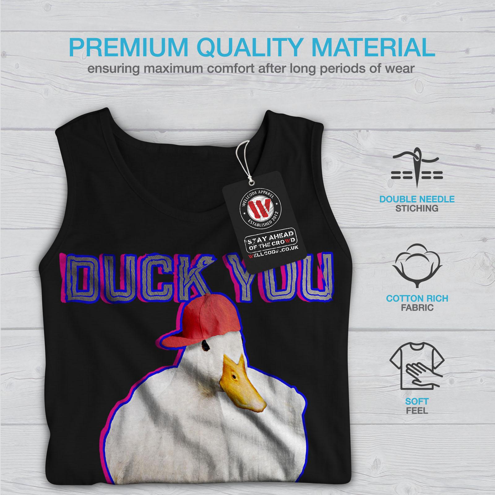 Sarcastic Duck You Women Tank Top NEWWellcoda