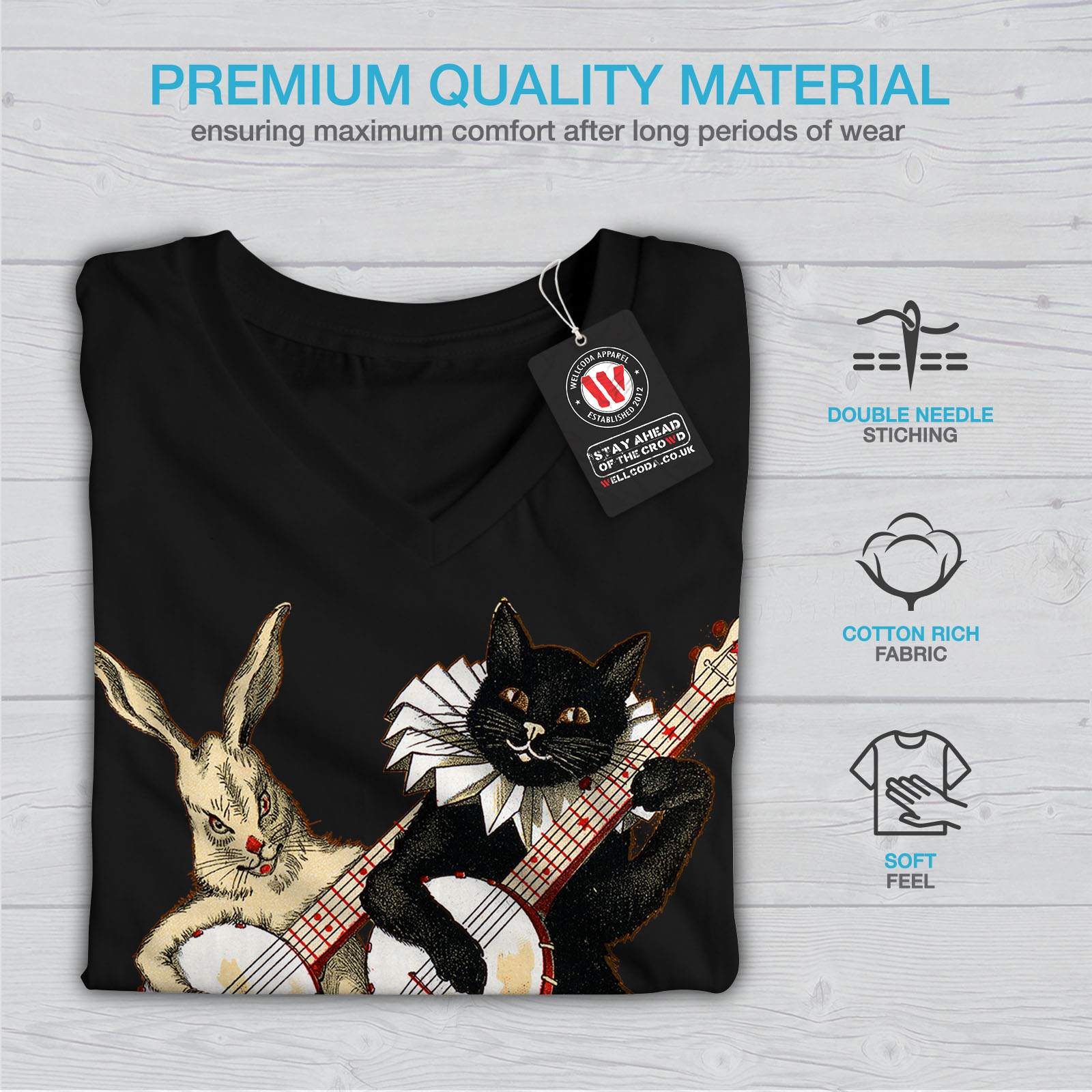 ca11045911b40 Band T Shirts For Cats - BCD Tofu House