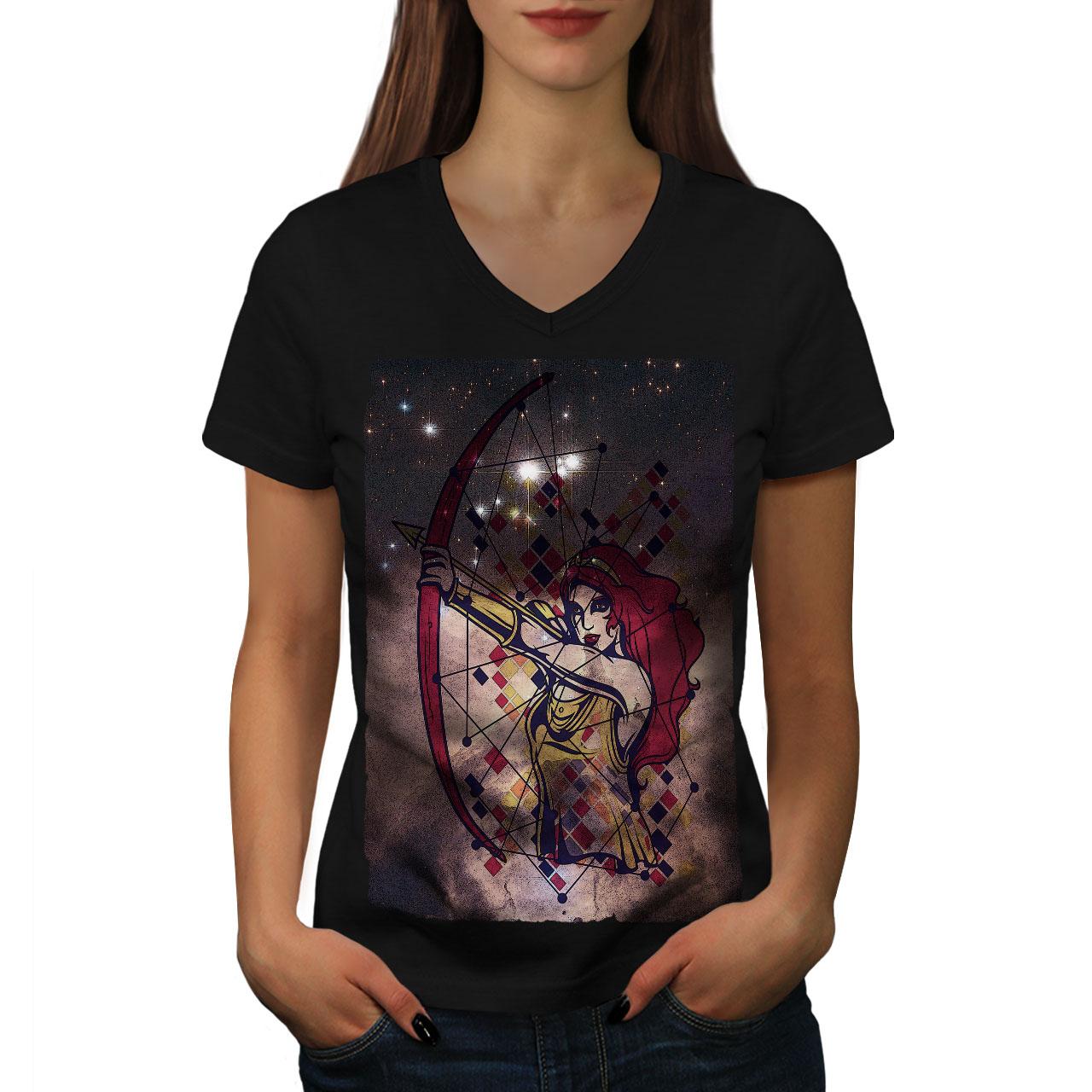 Wellcoda Warning Fairies Fashion Mens T-shirt Graphic Design Printed Tee