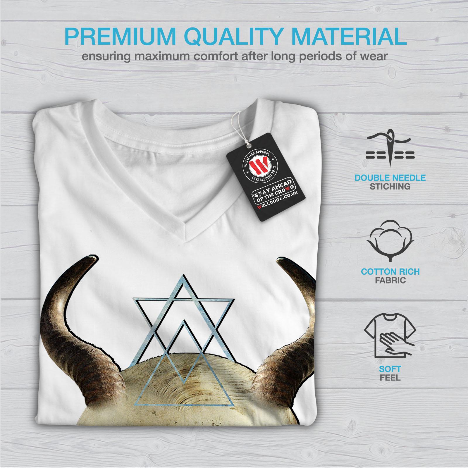 Dark Graphic Design Wellcoda Devil Goth Satan Horror Mens Long Sleeve T-shirt