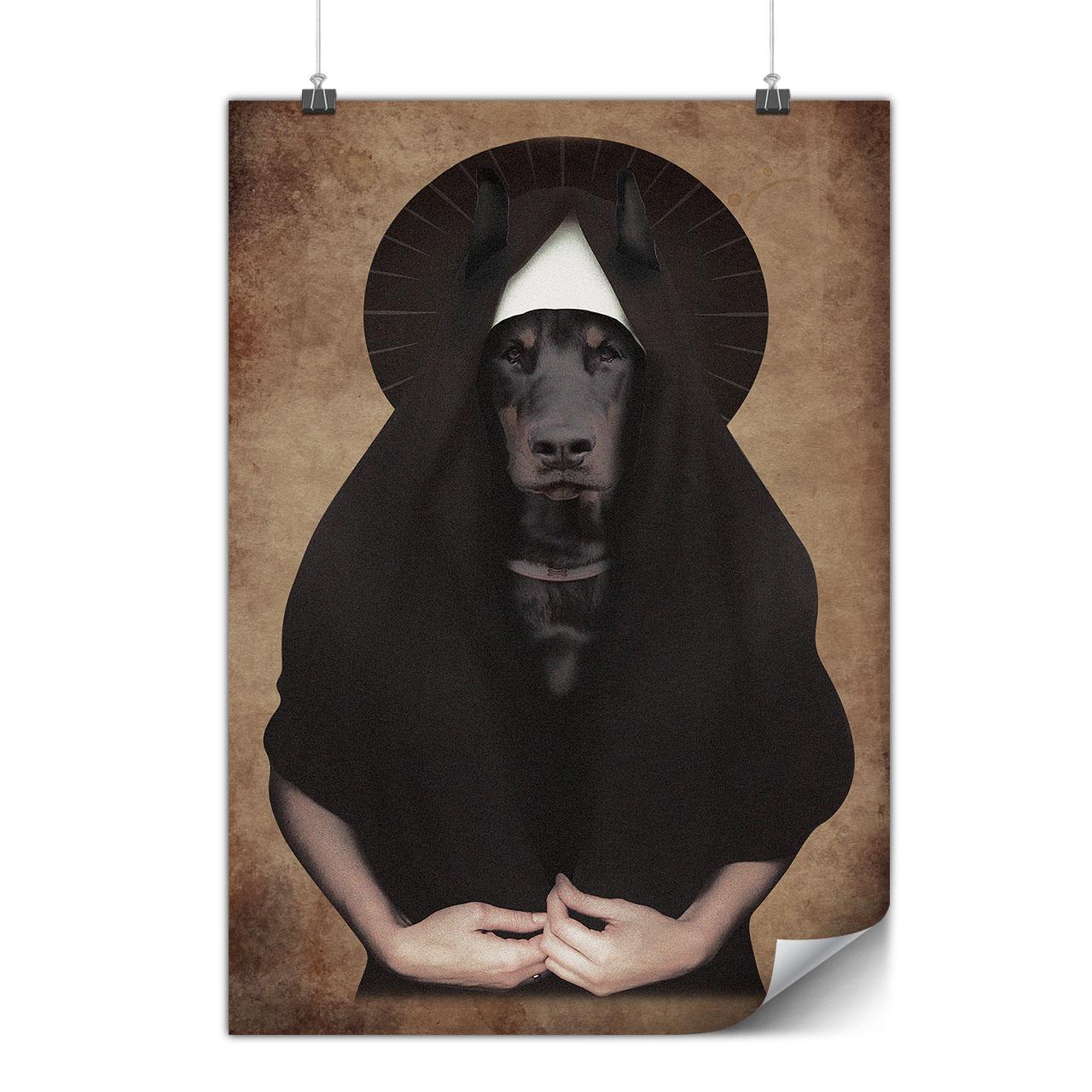Doberman Animal Cool Matte//Glossy PosterWellcoda